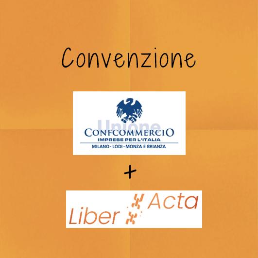Convenzione LiberActa ConfCommercio